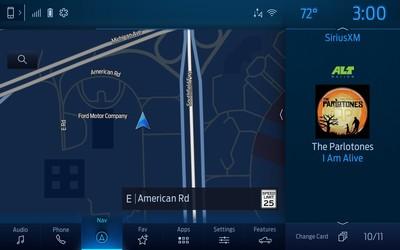 福特公布新SYNC 4影音系統功能
