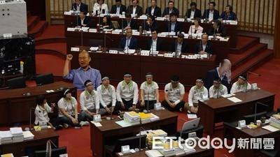 民進黨控國民黨暴力 轟主謀就是韓國瑜
