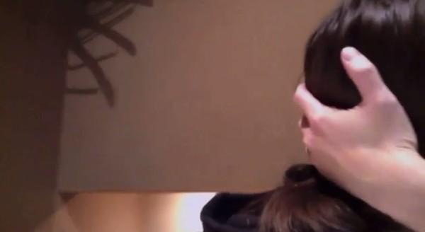 ▲▼中村江莉香喝醉開直播激吻人夫,102秒親吻片被罵翻。(圖/翻攝自推特)