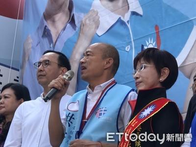 盼群眾安靜 司儀喊:誰出聲就是民進黨