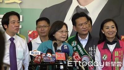韓國瑜轟綠營操控90%媒體!小英:那他就不會當選市長
