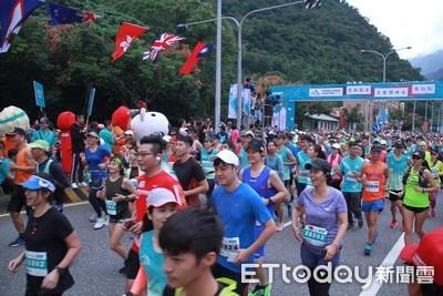 太魯閣峽谷馬拉松開跑 1萬5千選手參賽