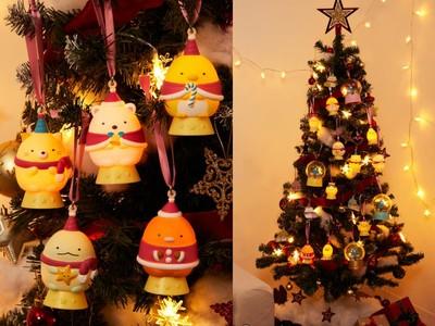 日本超商推超萌「角落生物聖誕樹」