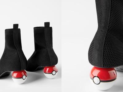 ZARA推「寶貝球」襪套靴