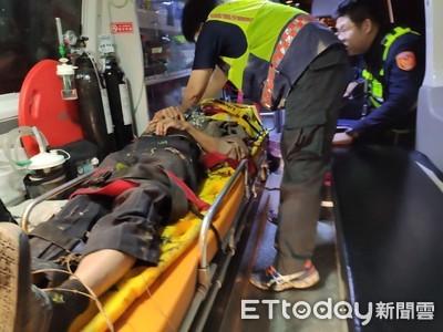 花蓮單車男摔水溝躺4小時 路人發現急送醫