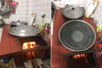 一周燒4大灶開水! 網懷念:煮出來有柴香