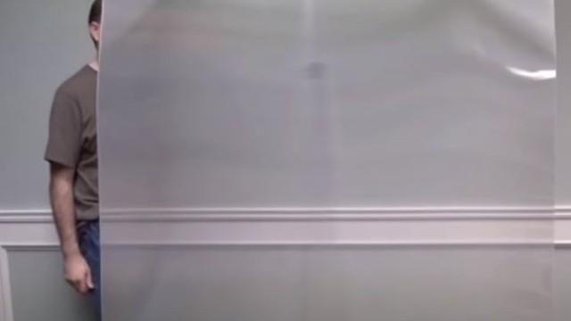 ▲隱形盾牌。(圖/翻攝自YouTube/The Telegraph)