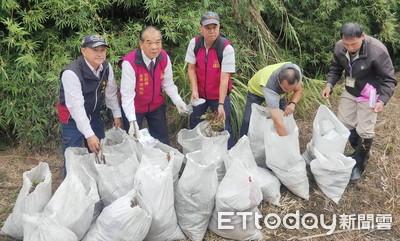 宜蘭又被偷倒廢棄物 五結鄉有8處約2噸重