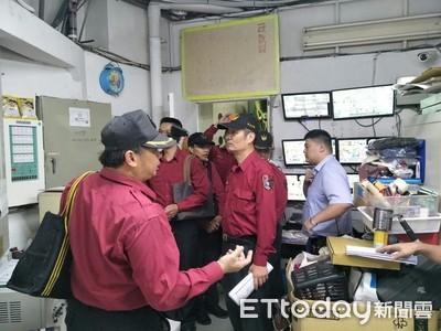 消防局辦消安檢查訓練