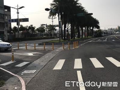 屏市機場北與公園西路口禁止左轉 警籲用路人注意