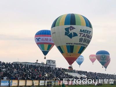 台東參與佐賀熱氣球活動 「喔熊」吸睛爆表