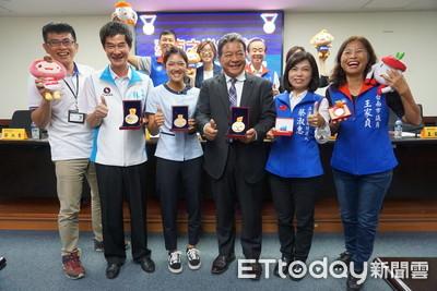 台南市議會員工為國爭光