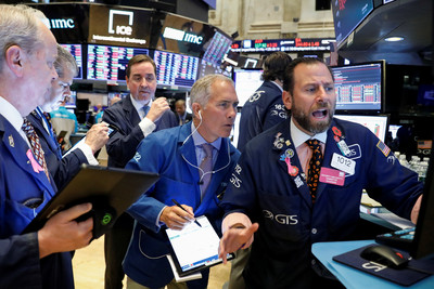 美就業數據佳 美股道瓊大漲337點