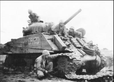 美軍坦克開放庶民10元收 農友都用M4雪曼犁田