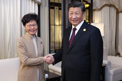 林鄭月娥16日將赴北京述職!