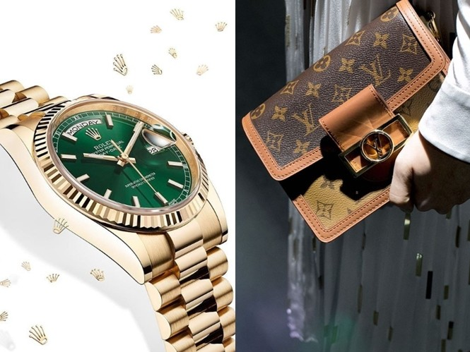 ▲與消費者情感聯繫最緊密的奢侈品牌。(圖/翻攝自IG@rolex、@louisvuitton、@gucci、@prada、@chanelofficial、@tiffanyandco、Cartier)