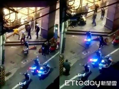 基隆2移工酒醉大鬧街頭 警壓制保護管束