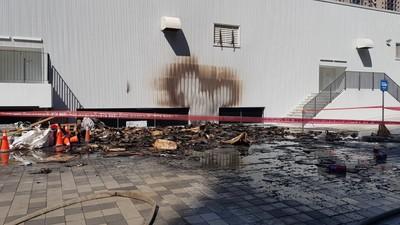 迪卡儂新竹旗艦店起火!民眾緊急疏散