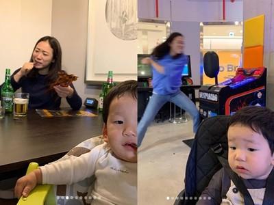 韓星李美度的崩潰媽媽發洩日常