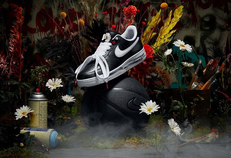 ▲PEACEMINUSONE X Nike Air Force 1「Para-noise」。(圖/翻攝自Nike、Adidas)
