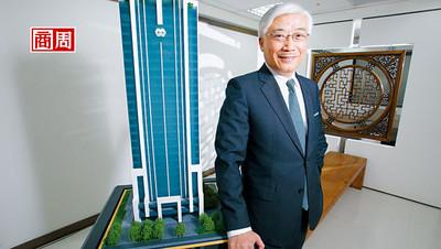 砸50億蓋新總部 管最多是一面窗簾