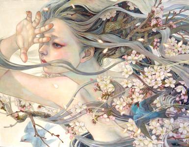 花鳥風月的空靈系少女
