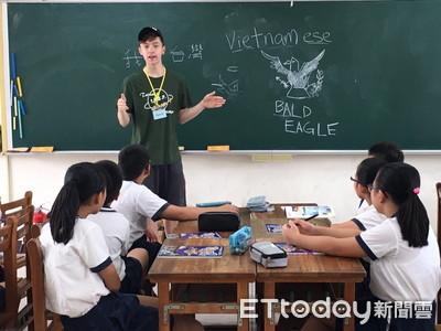 美國外籍生學生打成一片