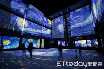 600萬人朝聖「梵谷數位展」來台