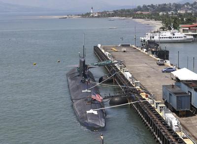 美軍最資深潛艦奧林匹亞號返母港迎接退役