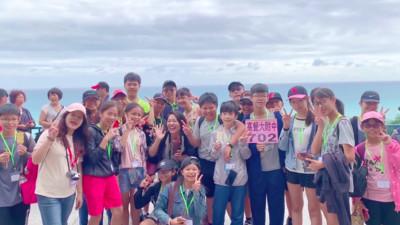 日本記者:台灣人的笑容給我力量