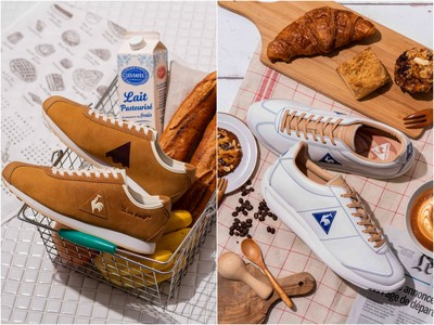 長棍麵包、拿鐵咖啡變成球鞋