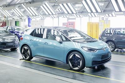 福斯ID.3電動車開始上線量產