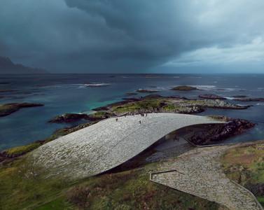 丹麥女建築師打造鯨魚建築
