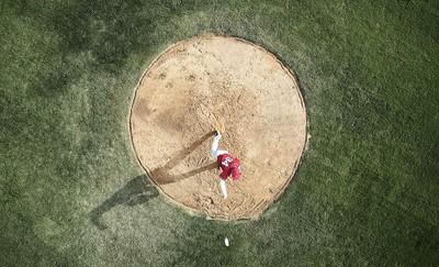 超現實復古唯美高速棒球攝影