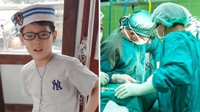 「心肝肺腎角膜」都捐了!9歲童生前熱愛助人 腦死器捐拯救8名孩童