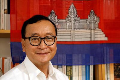柬埔寨反對派領袖宣布:9日回國!