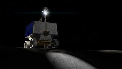 月球車VIPER探測月球 繪製水資源分布圖