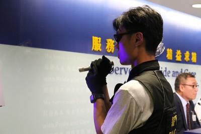 港少年遊行涉藏雷射筆 藏攻擊性武器裁罪成