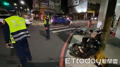 轎車疑違規左轉 騎士撞上亡