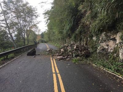 太平山森林遊樂區路坍 9-10日開園延後至上午6時