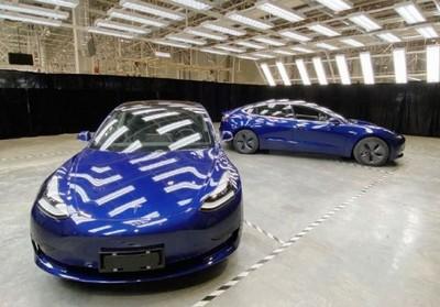 陸製特斯拉Model 3亮相 估2020年交車