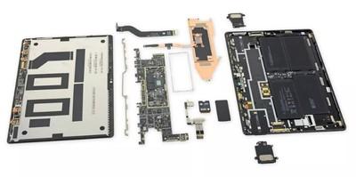 Surface Pro X大拆解!iFixit:比其他Surface、iPad還容易維修