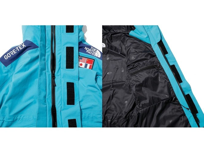 ▲The North Face 30周年主題限量系列。(圖/翻攝自Goldwin Japan、nanamica.com)