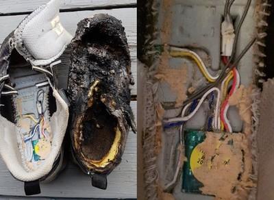 家中突然起火 兇手竟是「發光鞋」