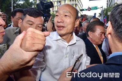 韓國瑜質疑個資外洩 財長怒斥「無的放矢」