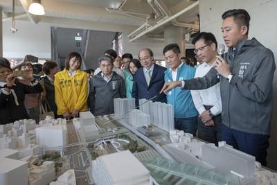 林佳龍全力支持竹市大車站計畫