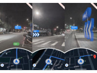路癡有救了!Google Maps曝新功能 4步驟跟著實際路況...「GM箭頭」帶你走