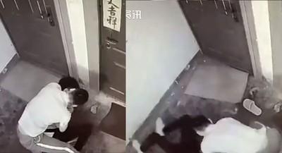 影/特警家中遇蠢賊!下秒抱摔制伏對方
