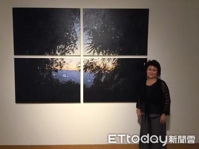 雲淡風輕詩意 「水痕藝境 」屏美館展出