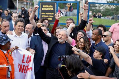 最高法院判決 巴西前總統魯拉獲釋